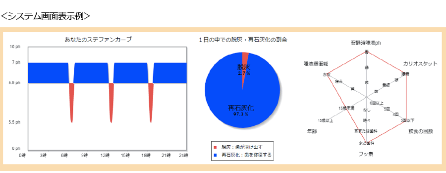 システム画面表示例